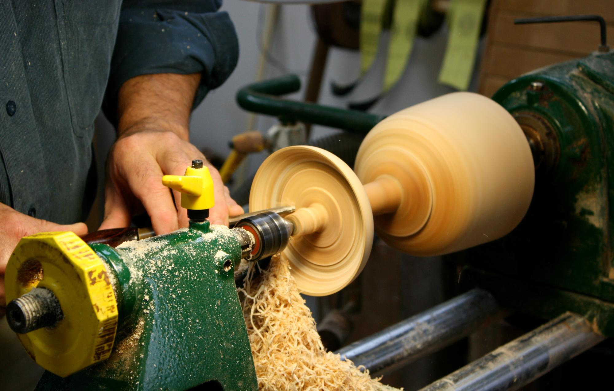woodworking equipment - woodworking showroom - DJ Evans